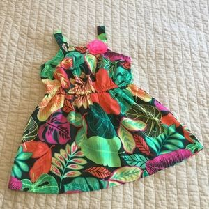 Lightweight Hawaiian Cover Up Dress
